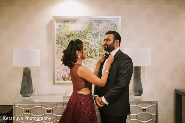 indian wedding,indian couple,getting ready,accessories