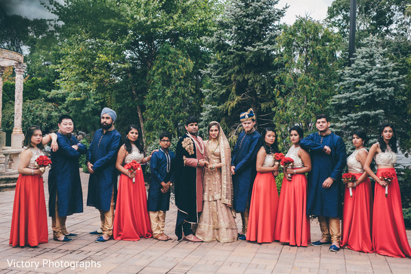 indian bridesmaids fashion,indian groomsmen fashion
