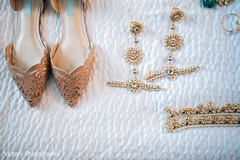 Glamorous indian bride accessories