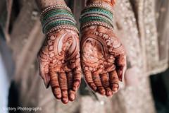 Marvelous indian bride mehndi designs
