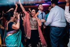 Maharani dancing with guests