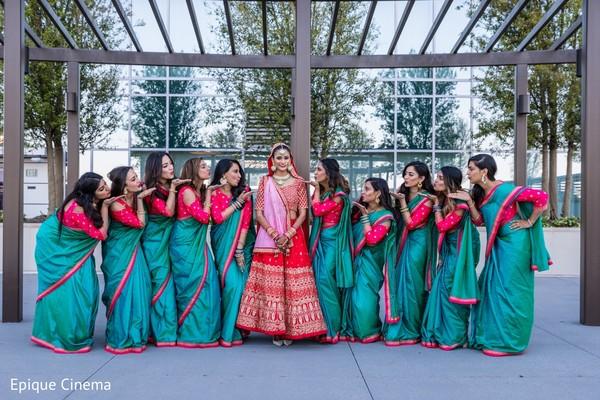 bridal lengha,indian bridesmaids fashion