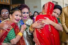 Emotional indian wedding good bye