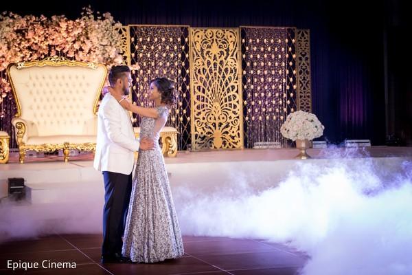 reception fashion,first dance,indian wedding