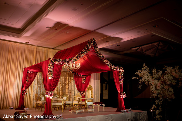 indian wedding,mandap,decoration,lightning