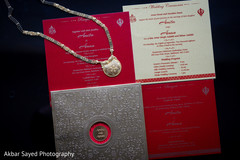 Indian wedding invitations detail capture