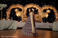 Stunning maharani posing for pictures at the reception