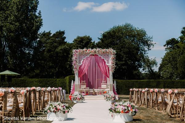 mandap,indian wedding,outdoors,venue