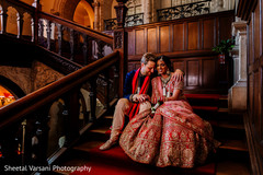 Charming capture of the Indian newlyweds at the venue