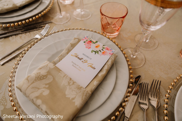 table,reception,indian wedding,silverware