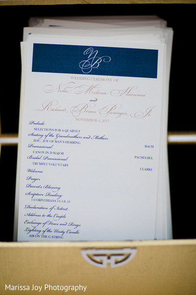 Detail of the Indian wedding event chronology