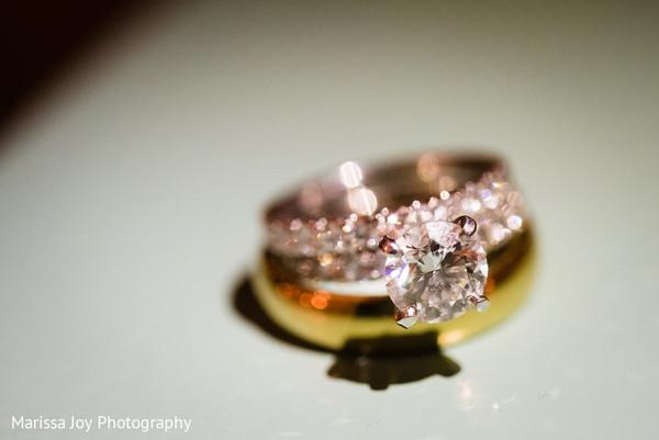 Close up capture of the ravishing Indian wedding ring