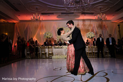 Indian newlyweds having a great time dancing for the first time