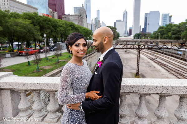 Indian bride and grooms outdoor photography.