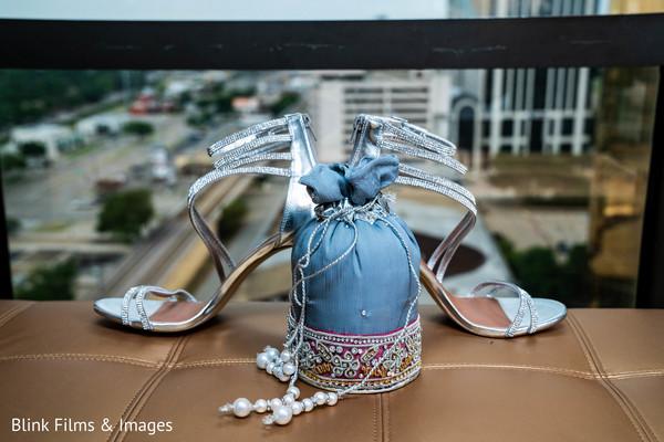 Marvelous Indian bridal ceremony shoes.