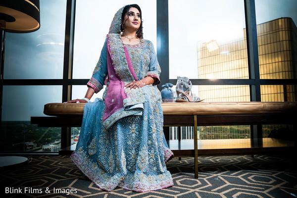 Enchanting Indian brides capture.