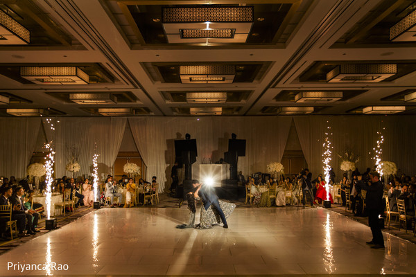 indian bride,indian groom,indian wedding reception fashion,dance