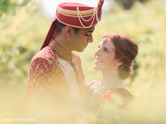 Beautiful indian couple during photo shoot