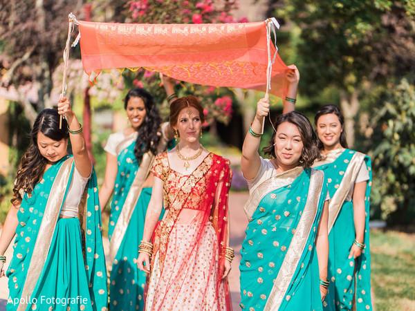 bridesmaids fashion,sari,bridal fashion