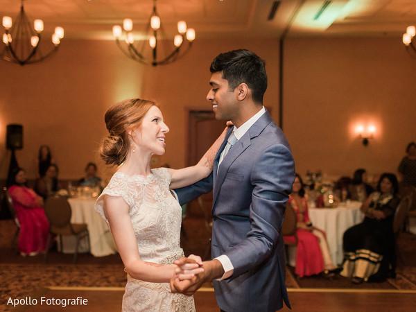 first dance,indian wedding,reception fashion