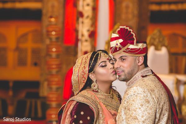 maharani,raja,photo shoot,kiss