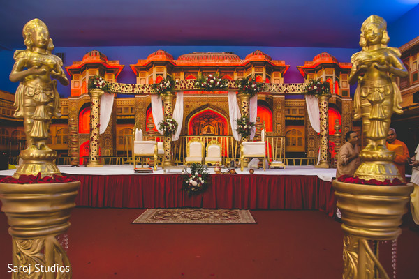 indian wedding,stage,decoration,venue