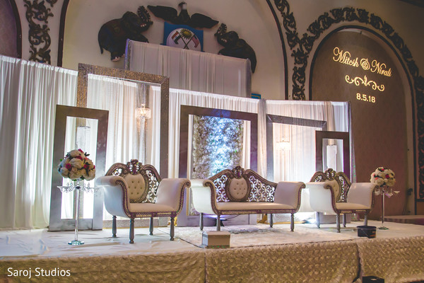 indian wedding,decor,venue,floral arrangements