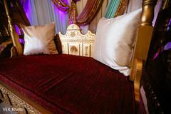 Wonderful pillows for mehndi party seat.