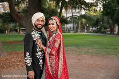 Sweet indian couple posing for photo shoot