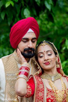 Indian lovebirds joyful moments