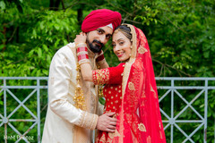 Lovely indian couple's photo session