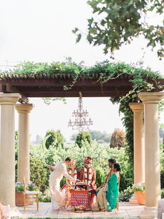 Enchanting indian wedding ceremony
