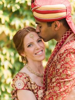 Beautiful natural indian bride makeup style
