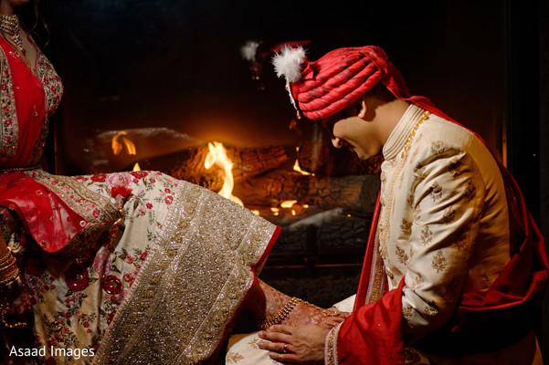 indian groom,bride,ceremonies,pagri