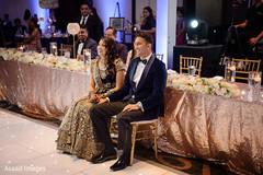 Lovely Indian newlyweds enjoying the choreography