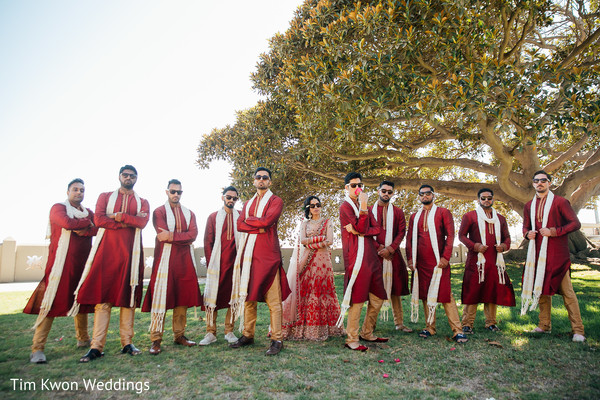 indian bride fashion,indian groomsmen style