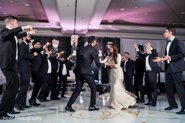 indian groomsmen,indian wedding reception dance,indian bride