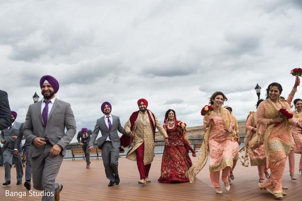 indian wedding,raja,maharani,bridesmaids