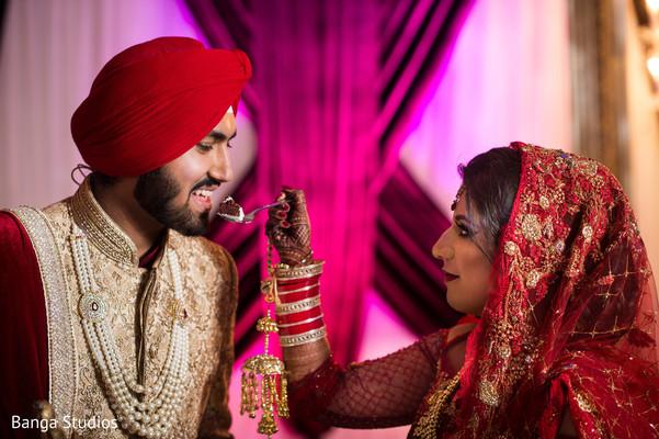 maharani,indian groom,cake,reception