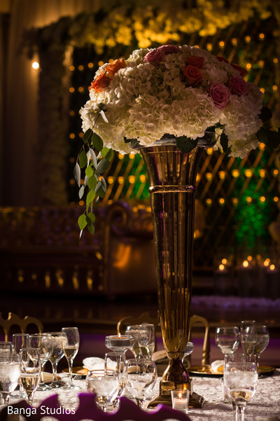 Astonishing wedding reception table decor