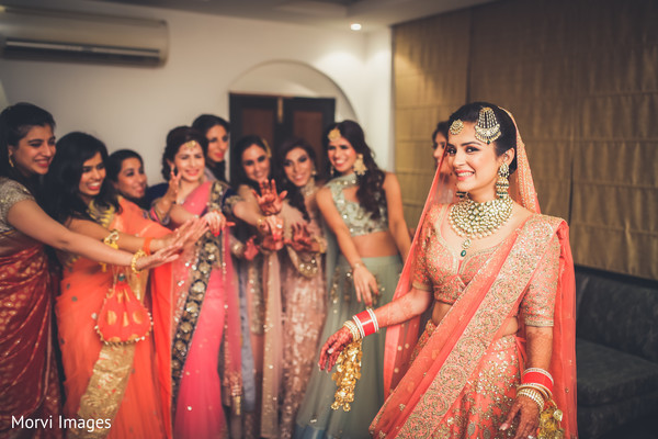 indian bride,indian bridesmaid,indian wedding ceremony fashion