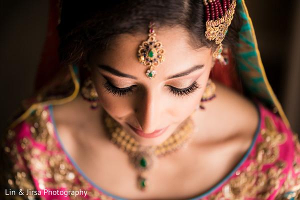 indian wedding,maharani,tikka,sari