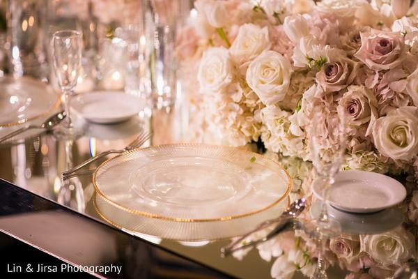 indian wedding,plates,floral,details