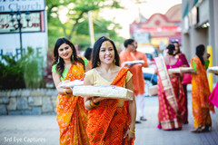 Beautiful Indian guests capture outdoors