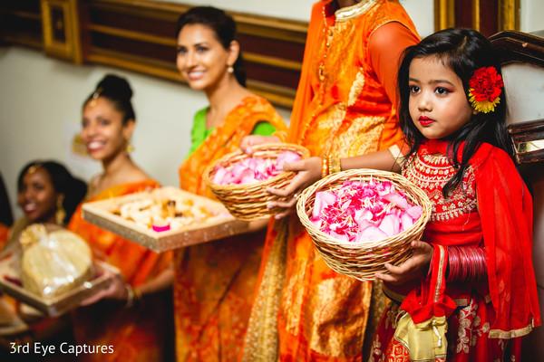 indian wedding,bridesmaids,sari,color