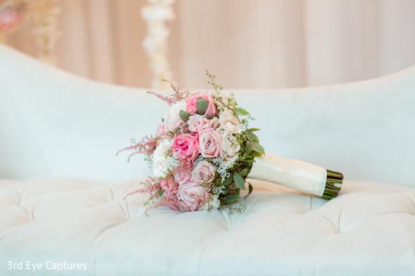 Floral arrangement detail capture