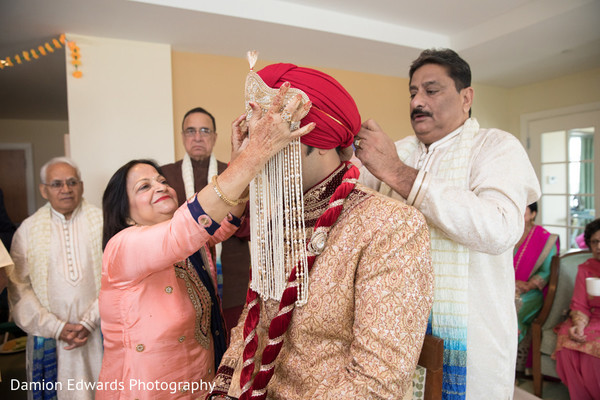 Indian groom is ready for the big day