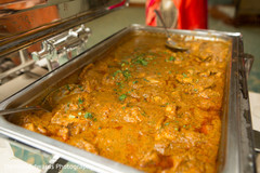 Indian food ready for the guests