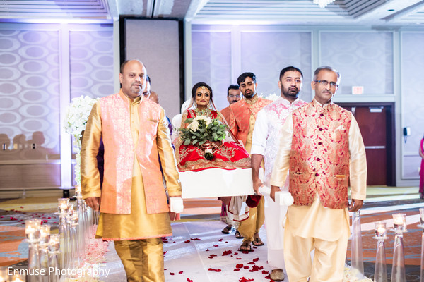 indian bride,indian wedding ceremony,indian wedding ritual,doli entrance