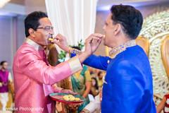 Indian wedding parents ceremony ritual capture.